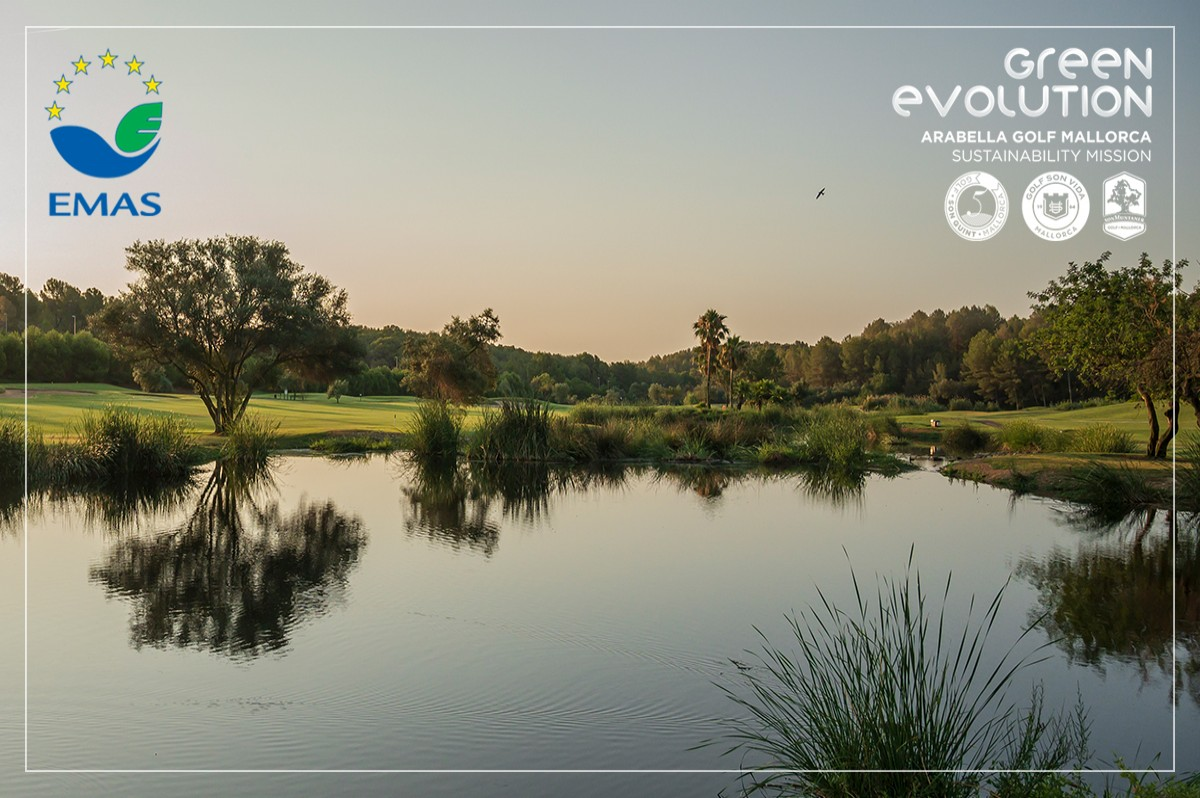 Arabella Golf Mallorca is awarded the EMAS Certificate for all its courses